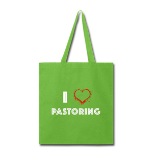 I Love Pastoring Tote Bag - Crossover Threads