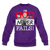 God Never Fails Crewneck Sweatshirt - purple