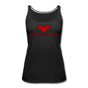 Worship Warrior Tank Top - black