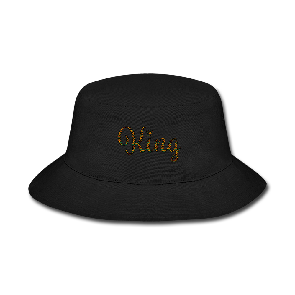 King Bucket Hat - black