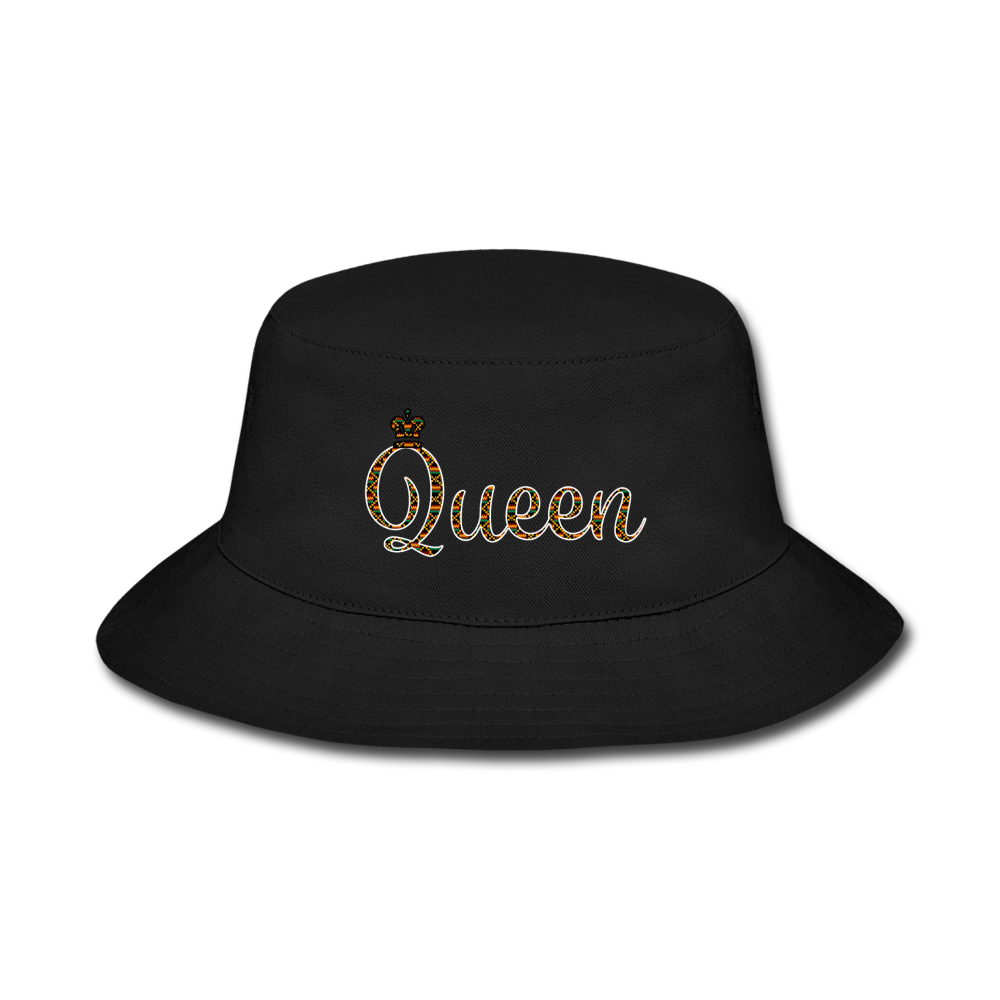 Queen Bucket Hat - black