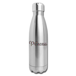 Princess 2 Insulated Stainless Steel Water Bottle - silver