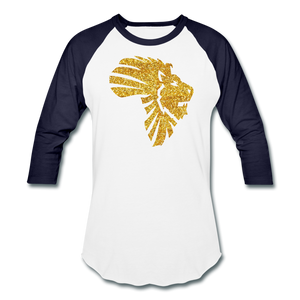 Safari Baseball T-Shirt - white/navy