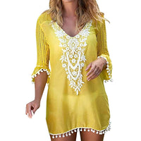 Beach Tunics Crochet Cover Up