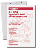 Poly Sheet Protector Folders: 4-Ring