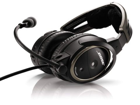 Bose A20 Headset with Bluetooth® dual plug cable