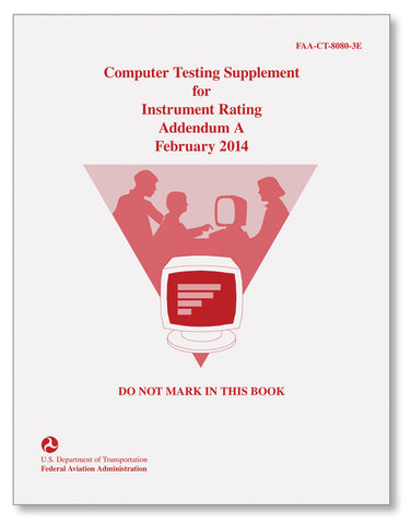 Computer Testing Supplement - Instrument Rating Addendum A