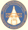 "FAA Charles Taylor ""Master Mechanic"" Award Embroidered Patch"