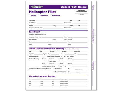 Student Flight Records: Helicopter