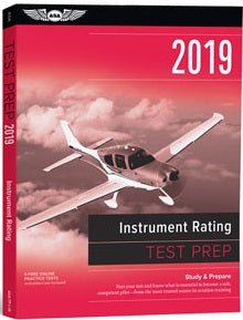 ASA Test Prep 2019: Instrument and CFII  Rating