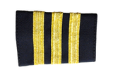 Epaulets Three Bar - Navy