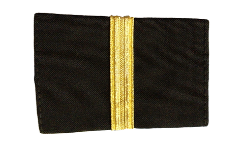 Epaulets One Bar - Black