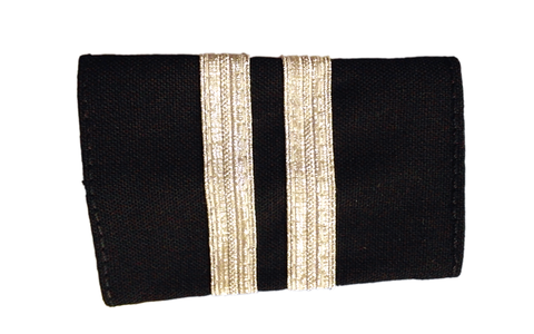 Epaulets Two Bar - Black