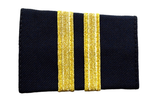 Epaulets Two Bar - Navy