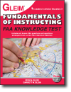 Fundamentals of Instructing FAA Knowledge Test book