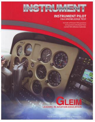 Instrument Pilot FAA Knowledge Test book