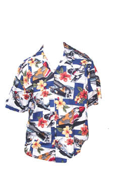 Blue Hibiscus S-XL