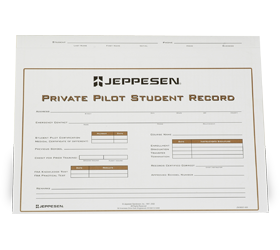 Private Pilot Record Folder