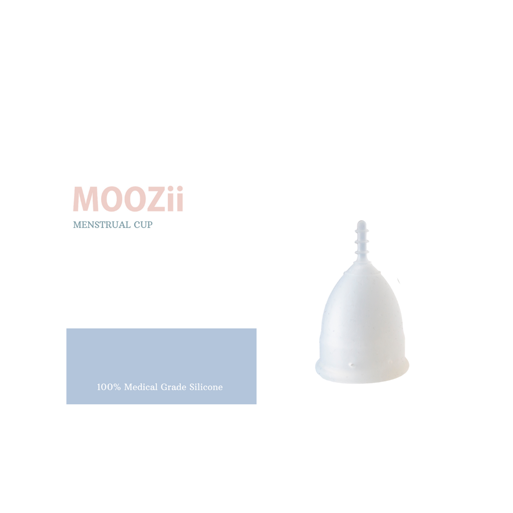 Moozii Menstrual Cup (With Bonus Storage bag)