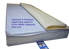 Best Cot Mattress with  Coolmax and Maxispace Toppers