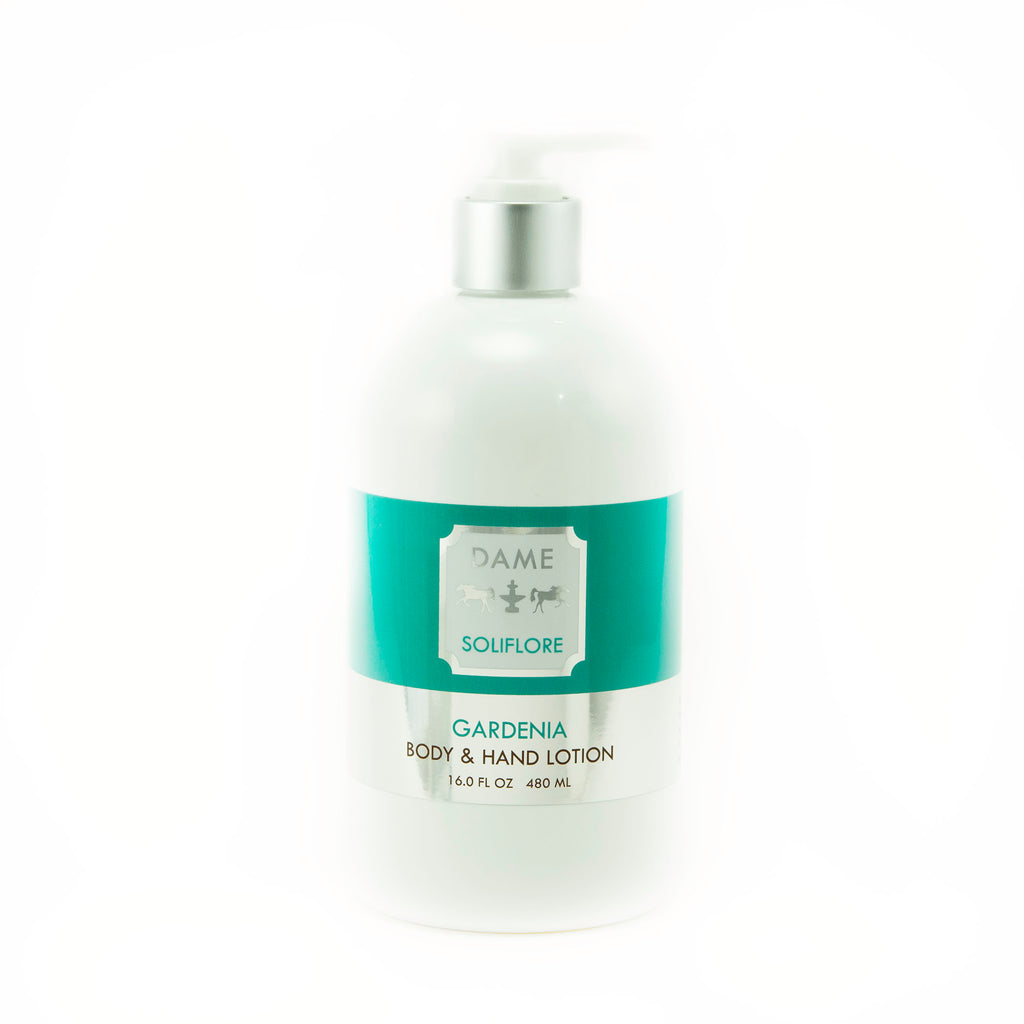 DAME SOLIFLORE Gardenia Body and Hand Lotion