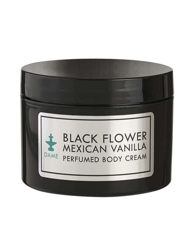 DAME Black Flower Mexican Vanilla Perfumed Body Cream 250g