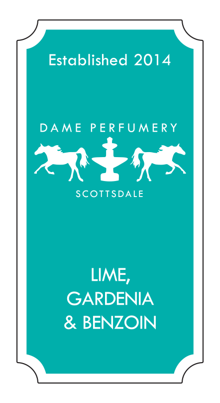 DAME Lime, Gardenia & Benzoin Eau de Toilette for a Woman