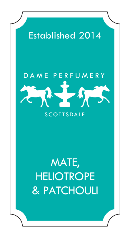 DAME Mate, Heliotrope & Patchouli Eau de Toilette for a Woman