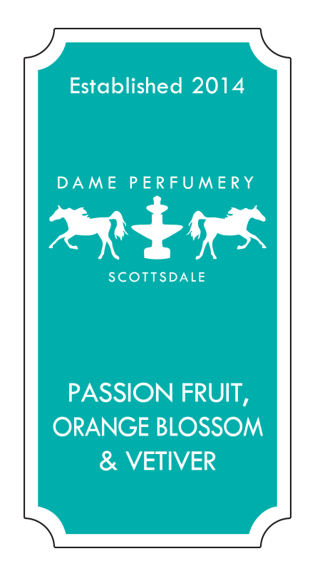 DAME Passion Fruit, Orange Blossom & Vetiver Eau de Toilette for a Woman