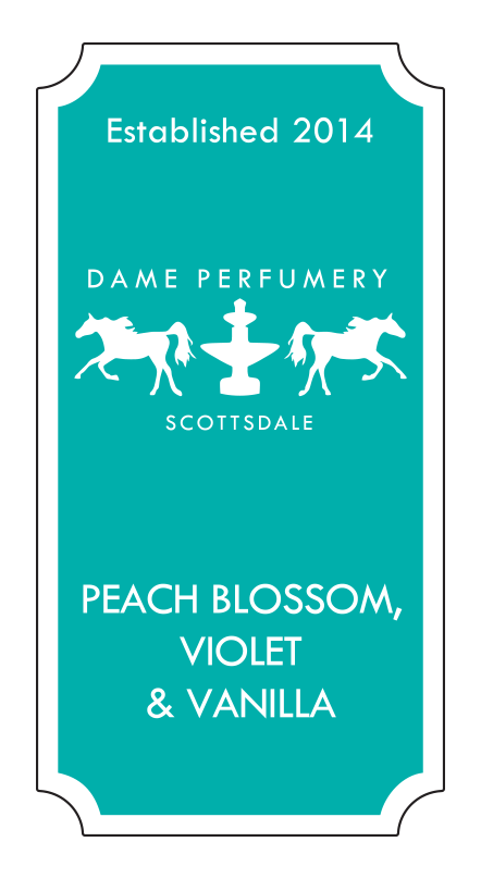 DAME Peach Blossom, Violet & Vanilla Eau de Toilette for a Woman