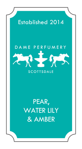 DAME Pear, Water Lily & Amber Eau de Toilette for a Woman
