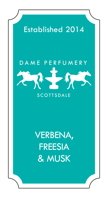 DAME Verbena, Freesia & Musk Eau de Toilette for a Woman