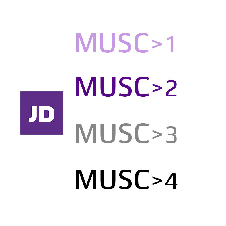 JD MUSC NEUTRE Ingredients