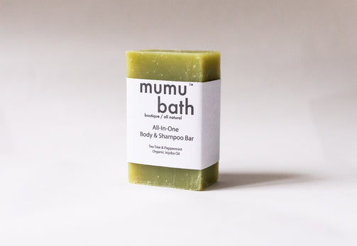 All-In-One Body & Shampoo Bar - Mumu Bath