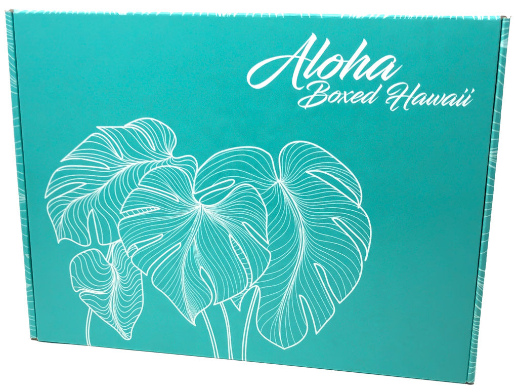 Gift-Boxes-Teal-Monstera