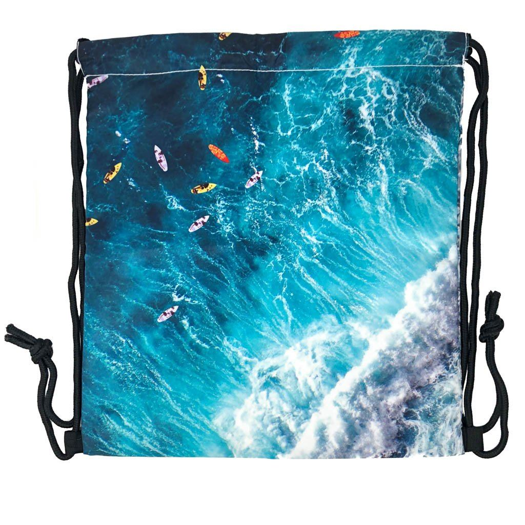 Maui No Ka Oi Drawstring Wet/Dry Bag Bags Maverick Events | Maui, HI