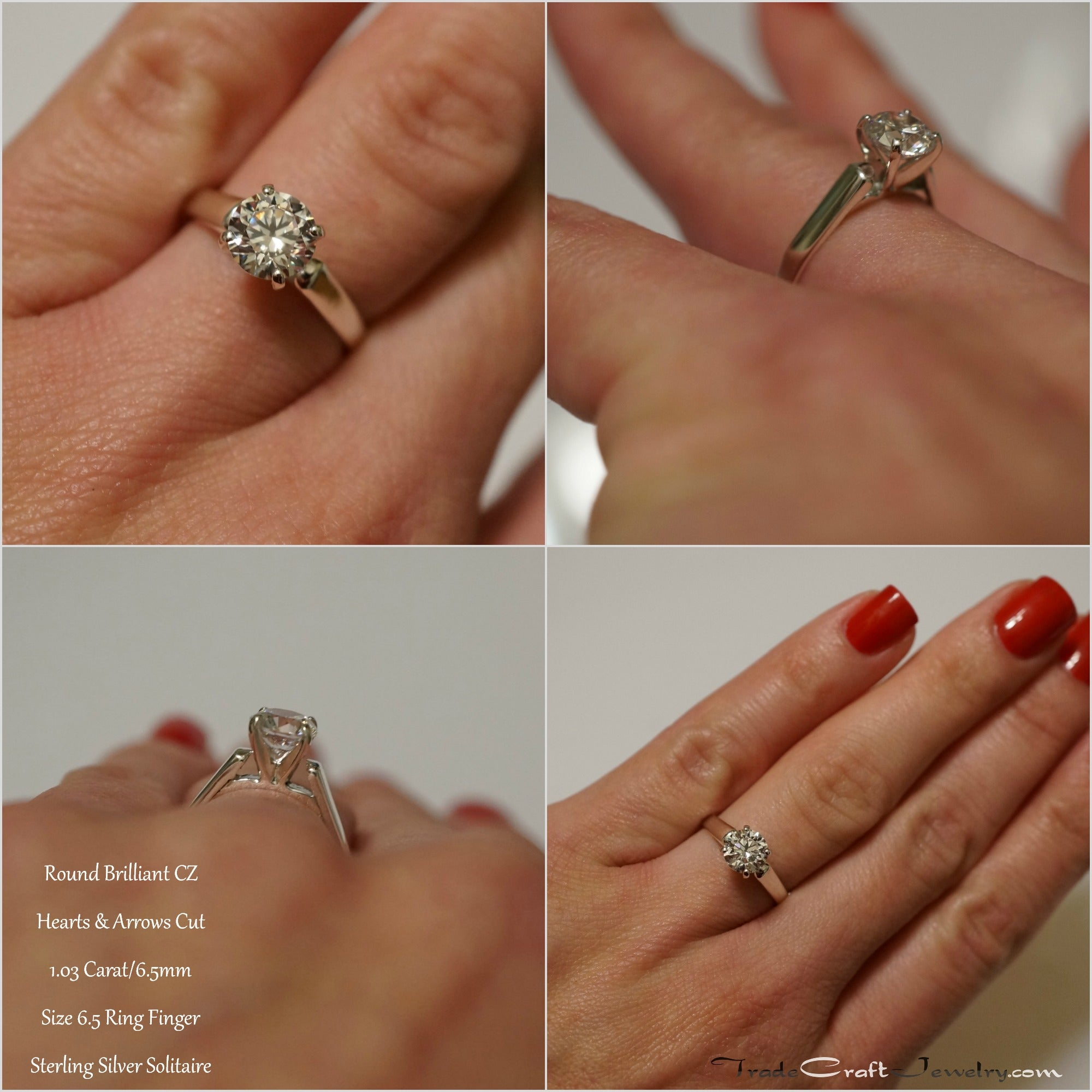 ring size shots with hand seven carat jewelry round tradecraft news brilliant this cushion dime finger diamond shows blogs stone us picture comparisons