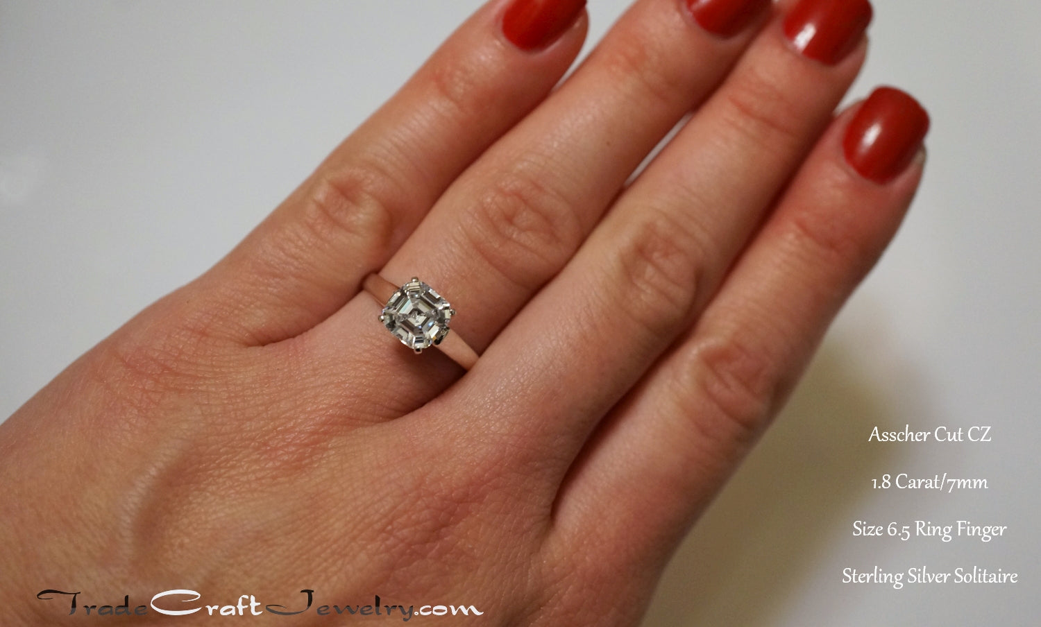 Sterling Silver Cz Wedding Rings 016 - Sterling Silver Cz Wedding Rings
