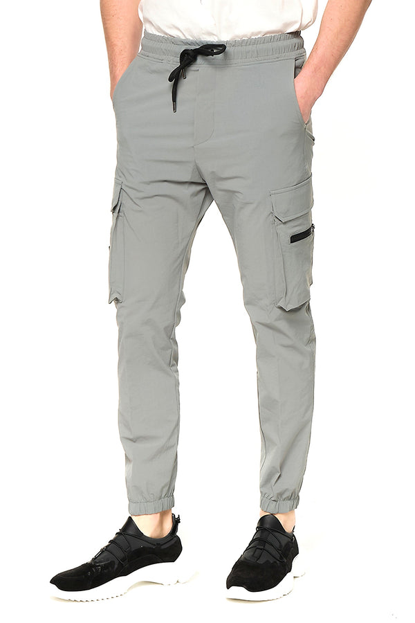 Side Zip-Pocket Track Pants - TEAL - Ron Tomson ?id=27953868308565
