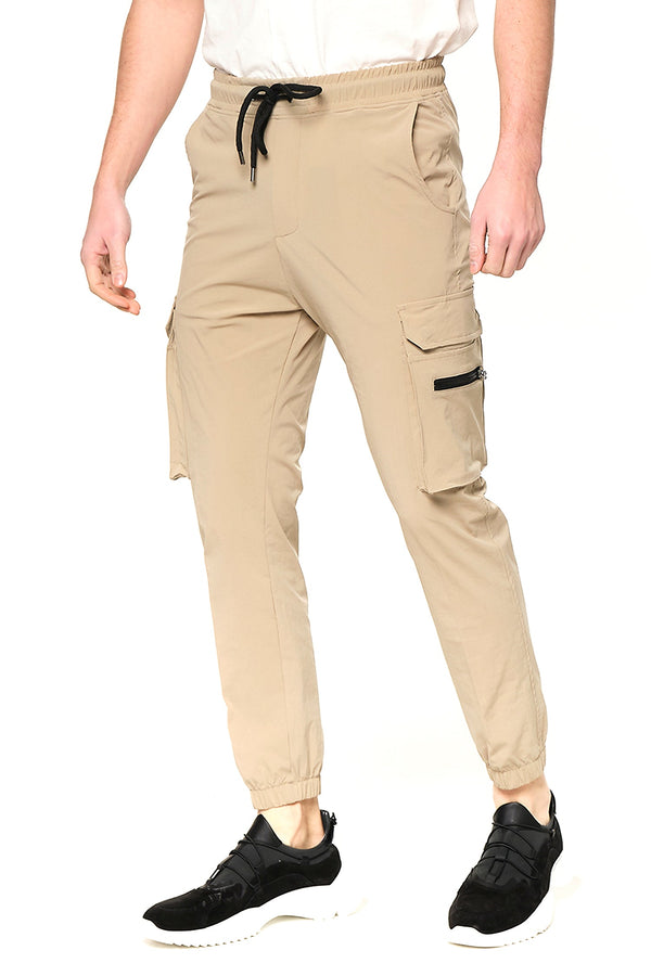 Side Zip-Pocket Track Pants - VIZON - Ron Tomson ?id=27953877450837