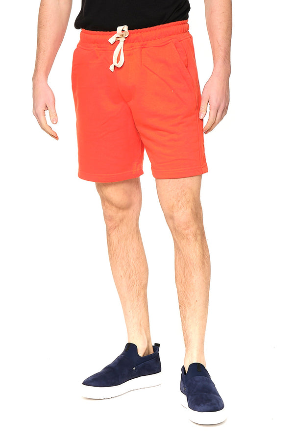 Weekender Cotton Shorts - RED - Ron Tomson