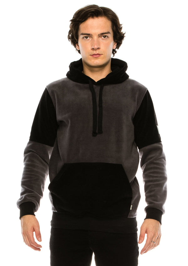 Panda PULLOVER HOODIE - BLACK ANTHRACITE - Ron Tomson