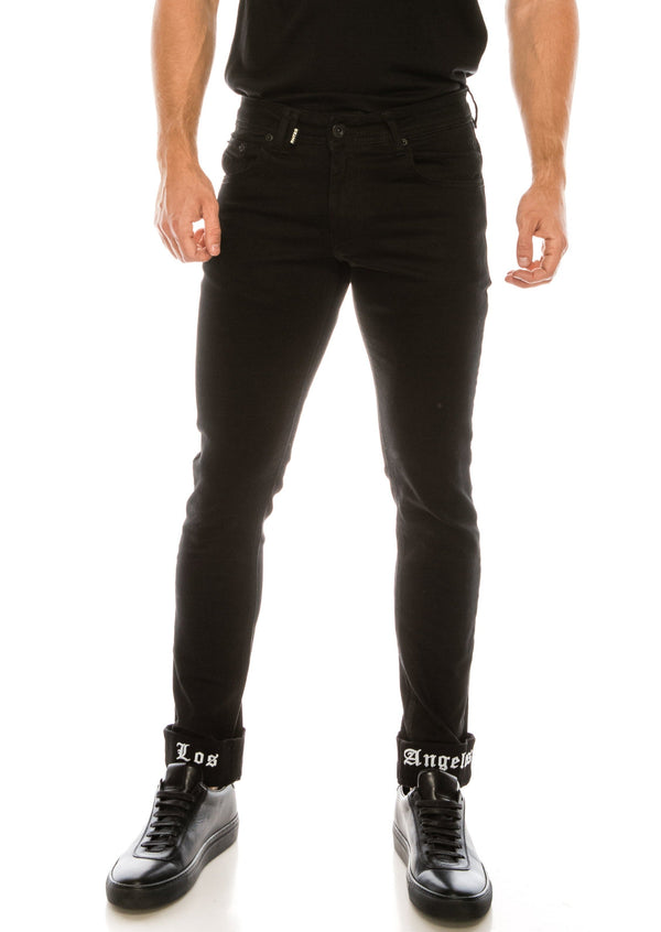 Los Angeles Lux Denim - BLACK BLACK - Ron Tomson