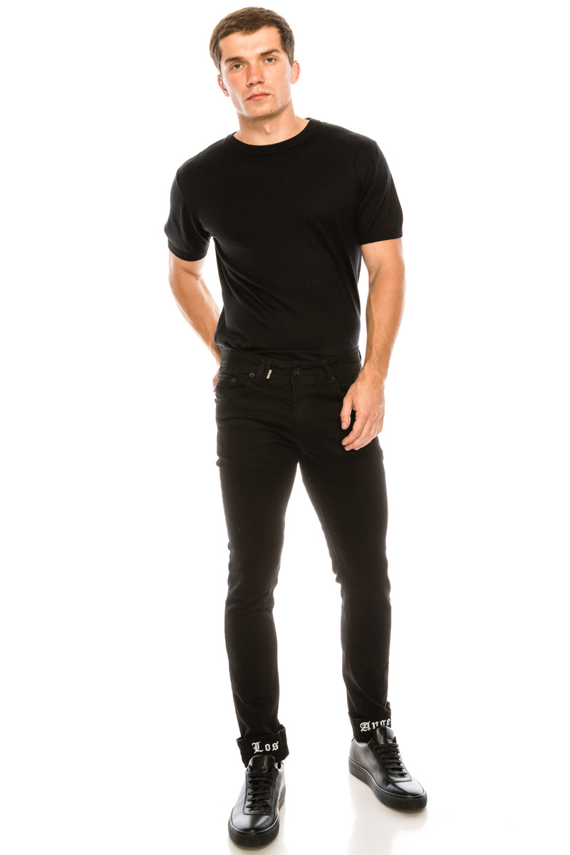 Los Angeles Lux Denim - BLACK BLACK - Ron Tomson ?id=15581745315925