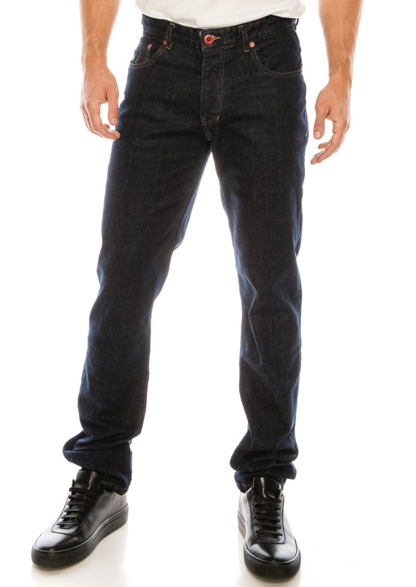 Red Rivet Lux Denim - NAVY
