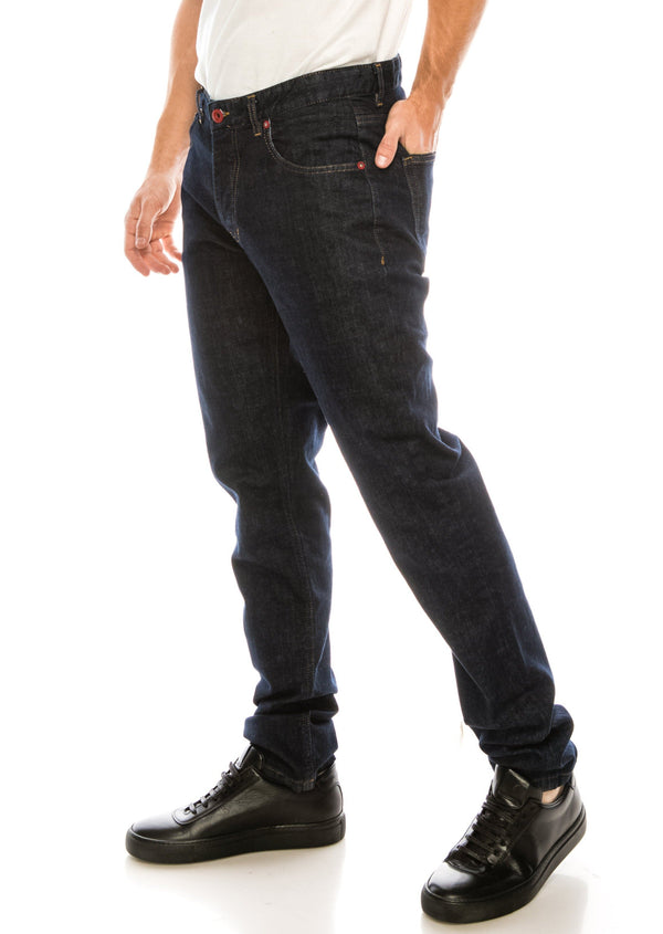 Red Rivet Lux Denim - NAVY - Ron Tomson