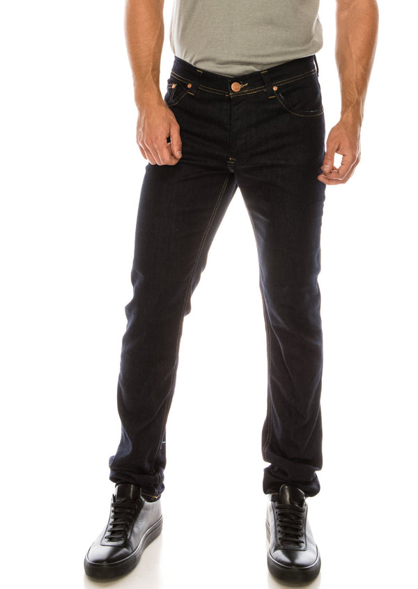 RT Tapered Jeans - Dark Blue - Ron Tomson