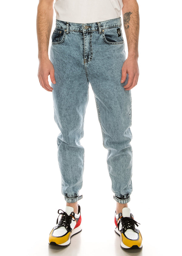 80's Denim Jogger - ICE BLUE - Ron Tomson ?id=15891428737109