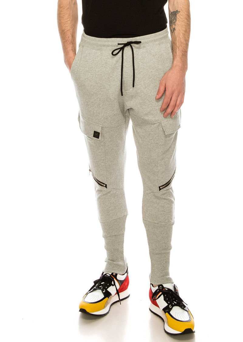 RT Sport Zippered Joggers - Grey - Ron Tomson ?id=15891468091477