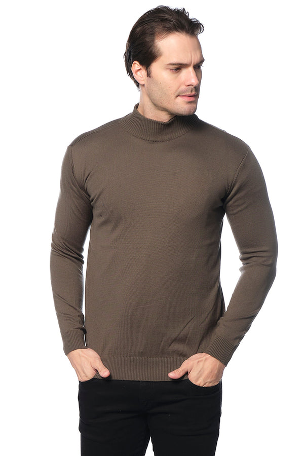 RT Mock-Neck SWEATER - GREEN - Ron Tomson ?id=15811470590037